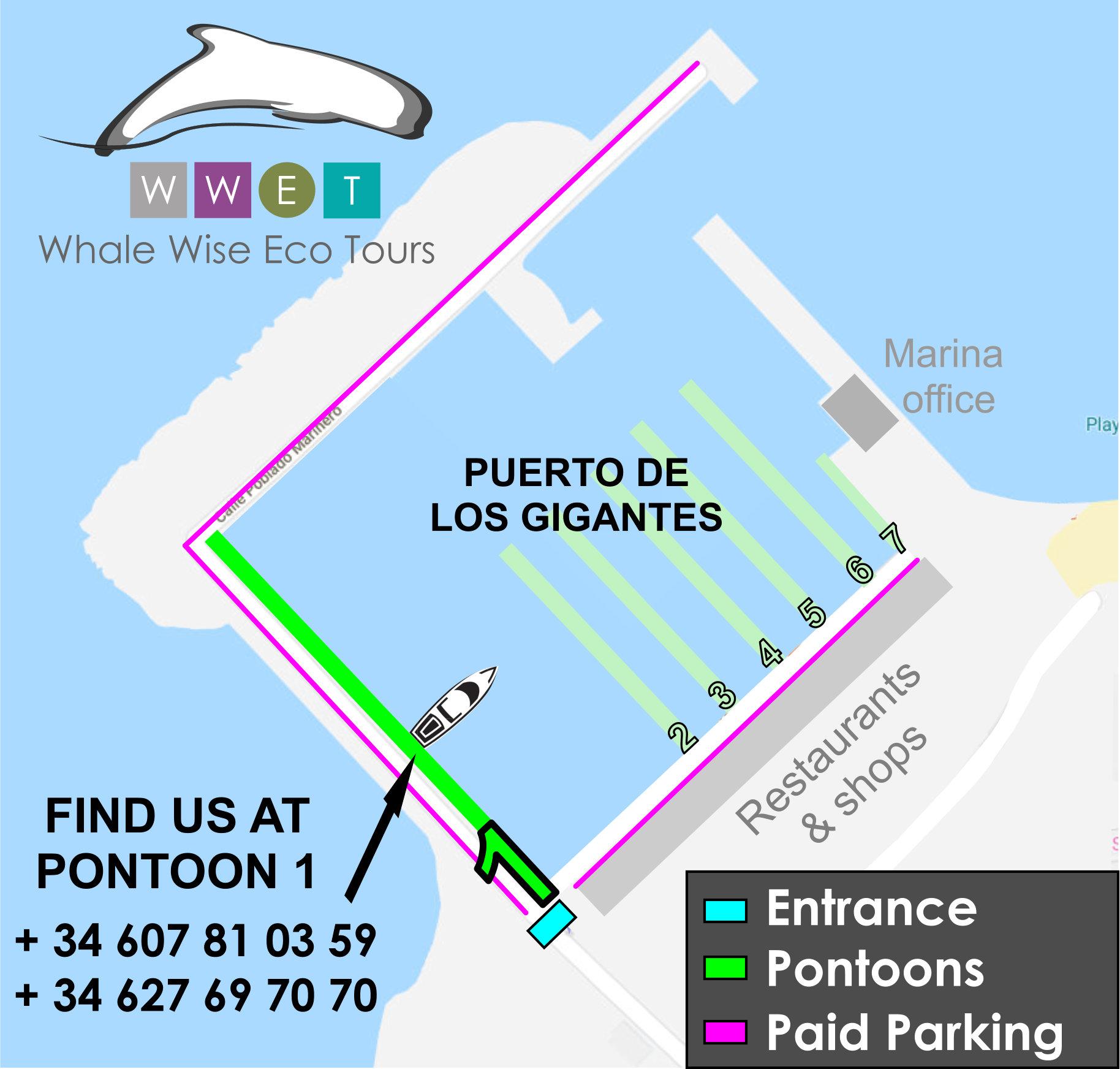mapa lg